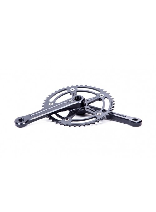 Polo & Bike crankset black