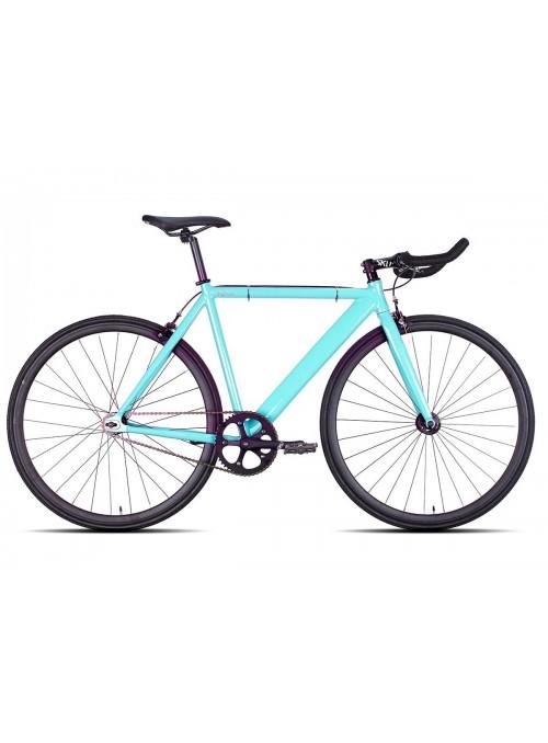 Bicicleta 6KU Track Celeste