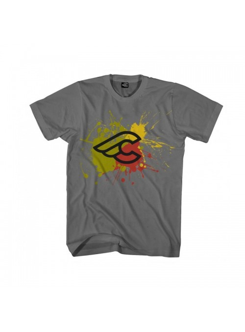 Camiseta Cinelli Splash T-Shirt Charcoal