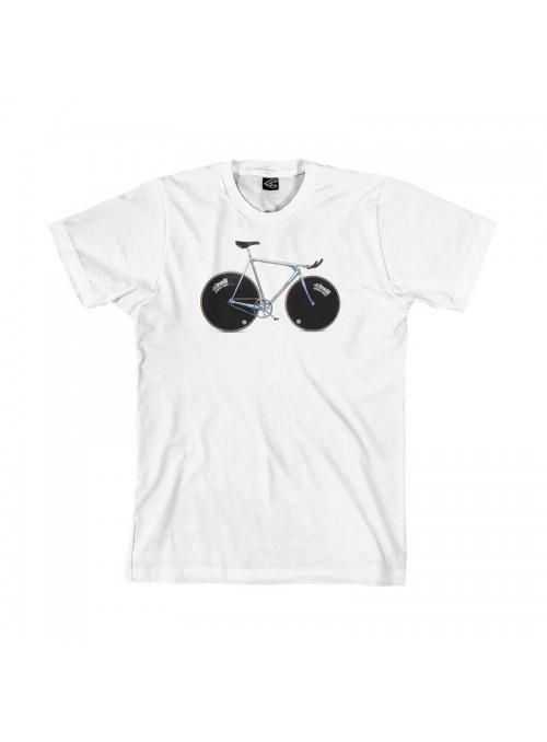 Camiseta Laser T-Shirt  Blanca