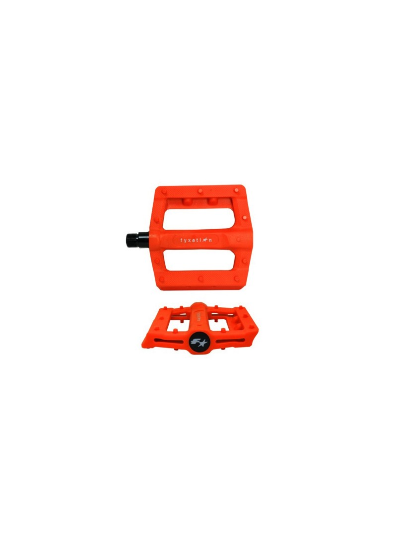 Pedales FYXATION GATES SLIM - Naranja