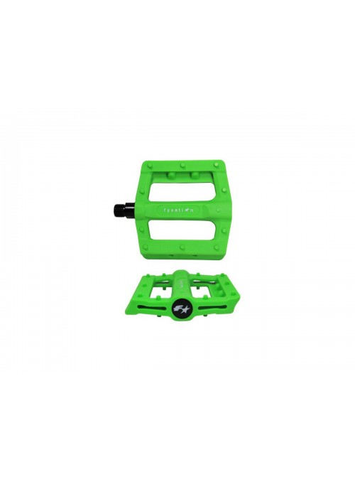 Pedales FYXATION GATES - Verde