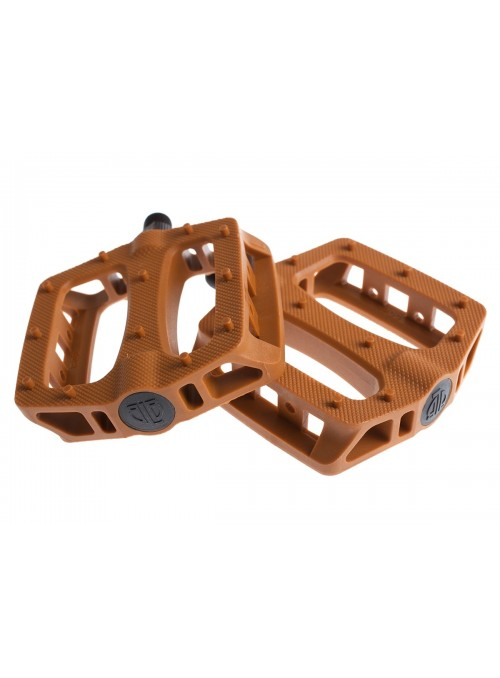 BLB T-REX PEDALS - HONEY BROWN