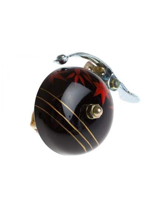 Crane hand painted bell Black Maple