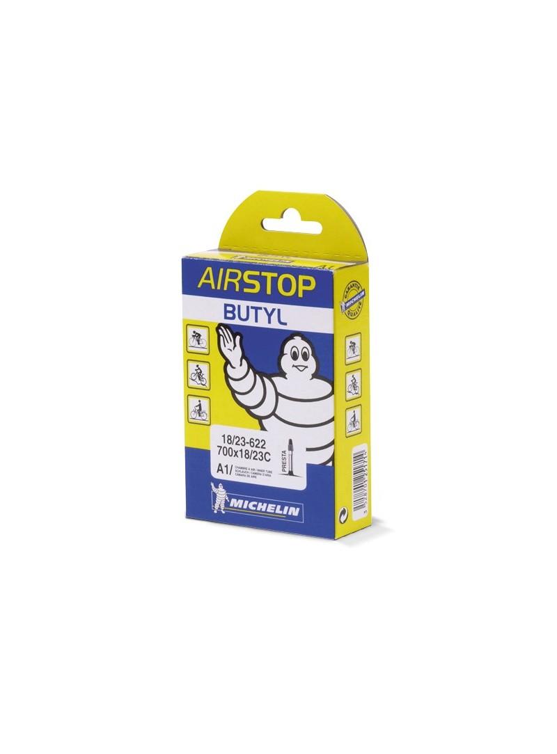 Cámara Michelin Airstop 700 x 18/23C PRESTA 52mm