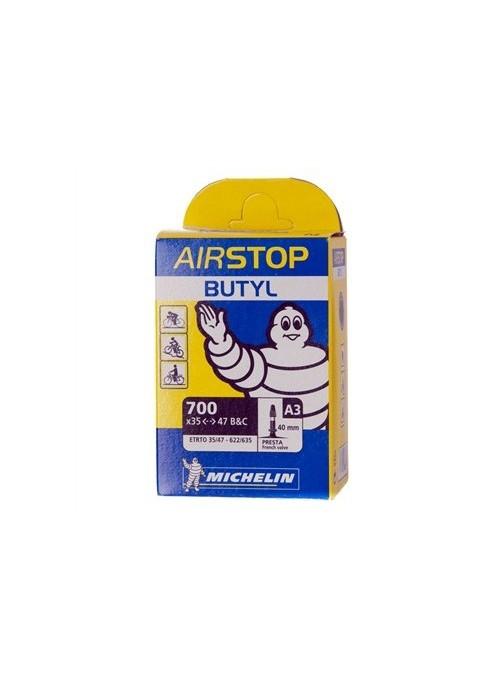 Cámara Michelin Airstop 700 x 35/47B&C PRESTA 40mm
