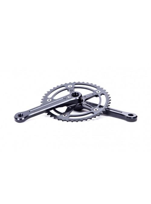 Polo & Bike crankset black