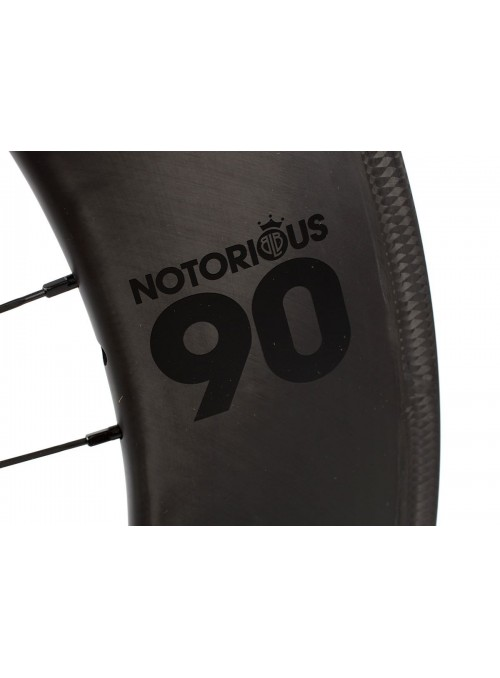 BlB Notorius 90 carbon front wheel