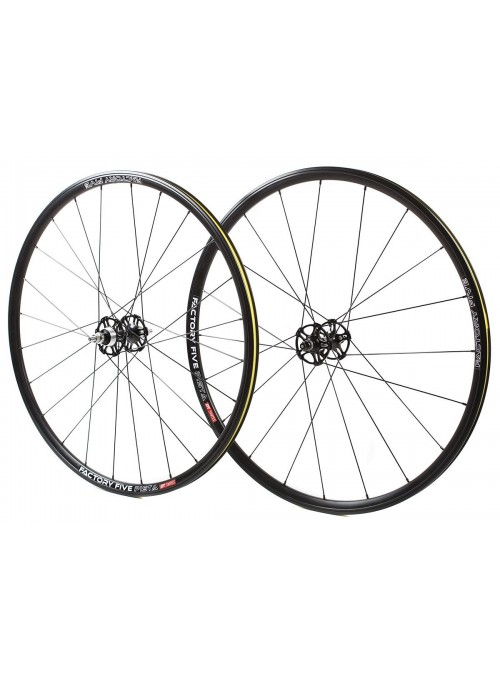FACTORY 5 PISTA WHEELSET - BLACK