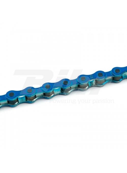 Cadena KMC S1 1V Azul Anodizado