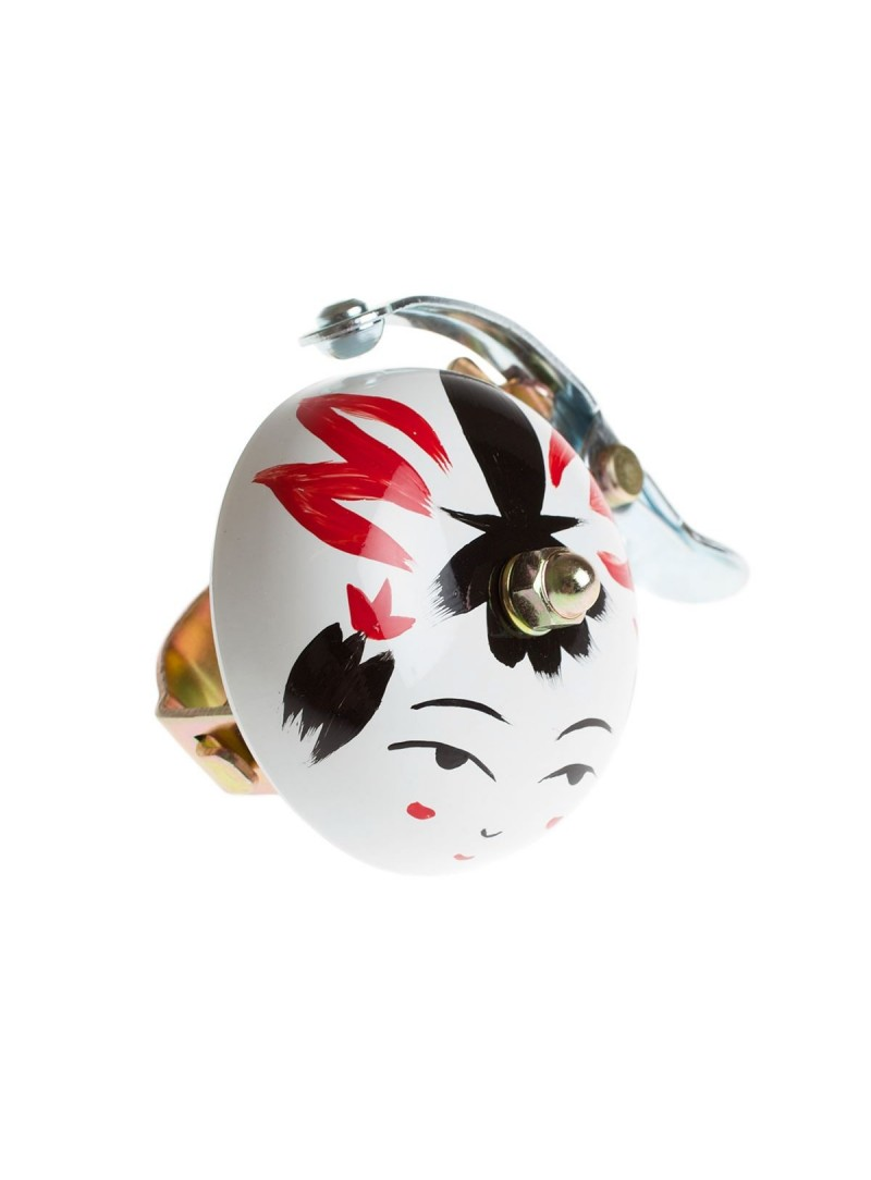 Crane hand painted bell Onna