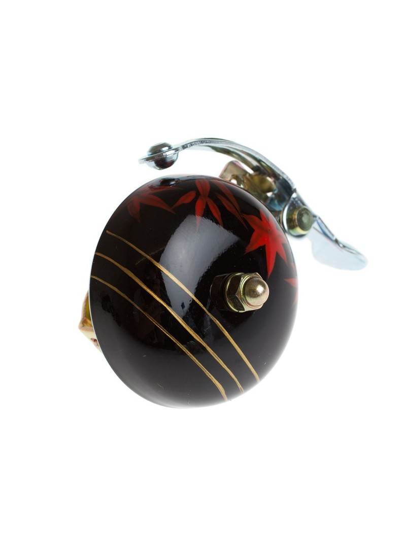 Crane hand painted bell Black Maple