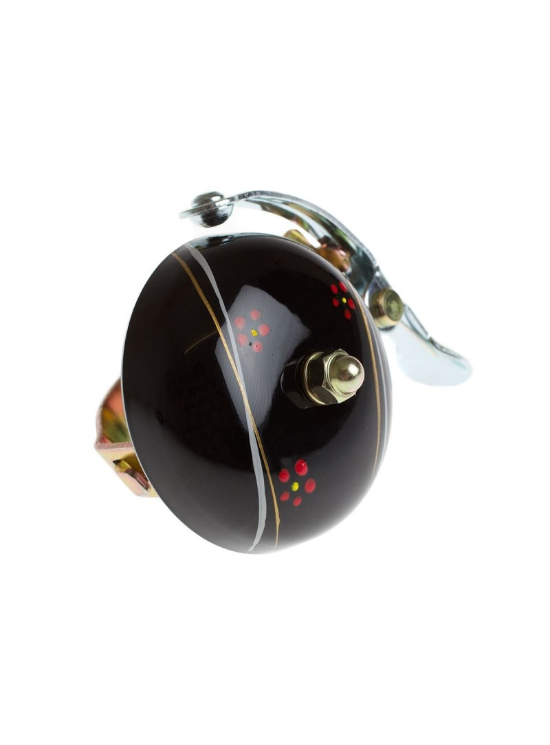 Crane hand painted bell Black Night