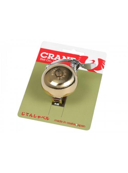 Crane Mini Suzu  Handlebar bell - Brass