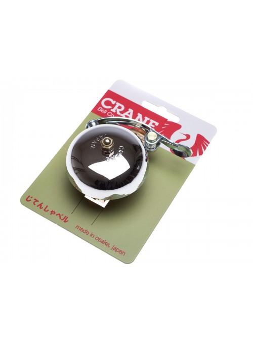 Crane Suzu  Handlebar bell - Chrome Plated