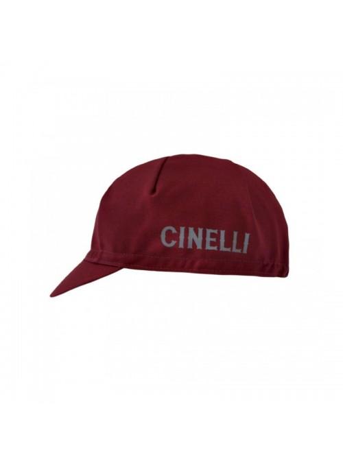CREST BURGUNDY CAP