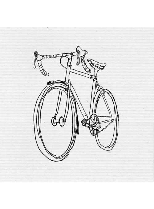 Sudadera unisex-Bici City