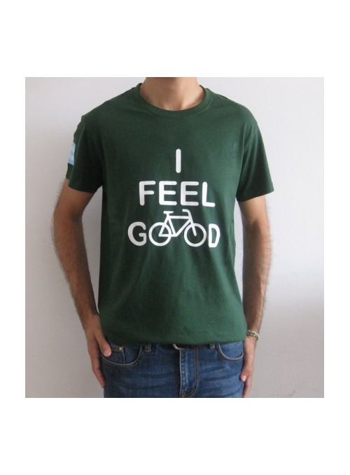 "T-shirt ""I feel good"""