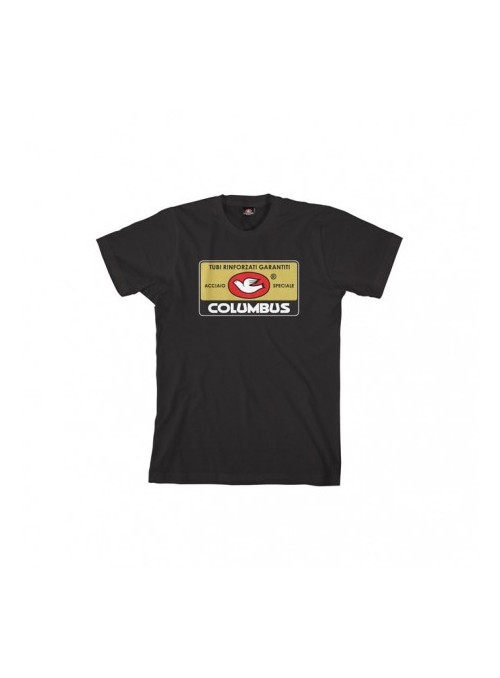 T-shirt Columbus Tag Black