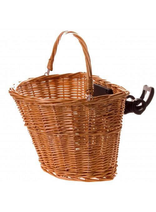Wicker klick-fix basket