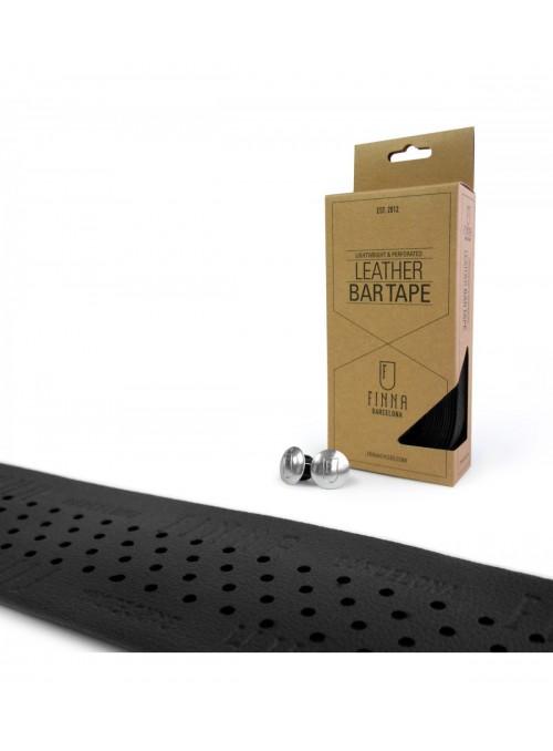 Finna Leather Bar Tape - Black