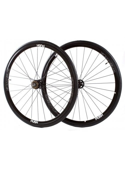 Aventón Push Wheelset - Black