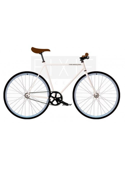 FB FIX1 Bike - White