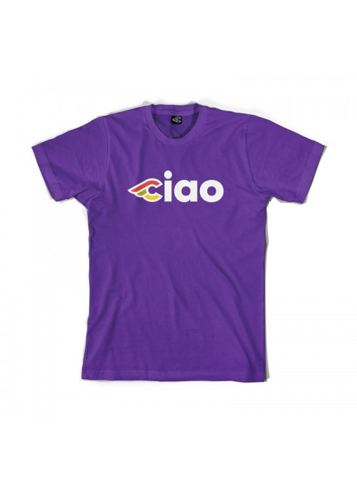 T-shirt Cinelli CIAO - Purple